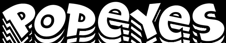 free vector Popeyes logo
