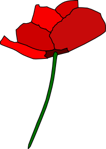 free vector Poppy Flower clip art