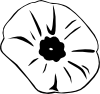 free vector Poppy Remembrance Day clip art