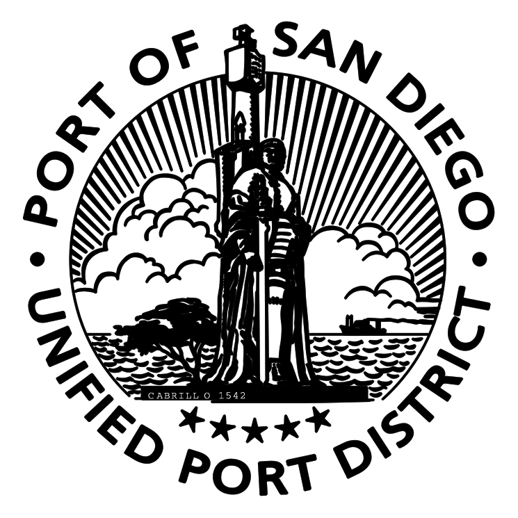 free vector Port of san diego