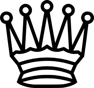 free vector Portablejim Chess Tile Queen clip art