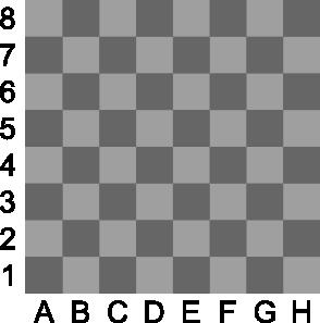 free vector Portablejim D Chess Set Chessboard clip art