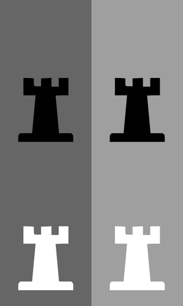 free vector Portablejim D Chess Set Rook clip art