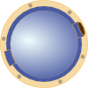 free vector Porthole Window Ship clip art