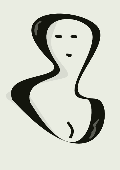 free vector Portrait Of A Woman clip art