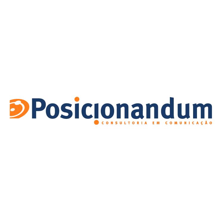 free vector Posicionandum
