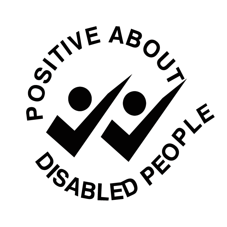 free vector Positive about disabled people
