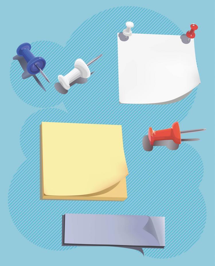 free vector Post It Graphics