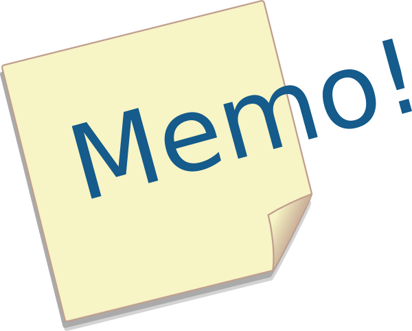 Image result for memo clip art images