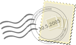 free vector Postage Stamp clip art