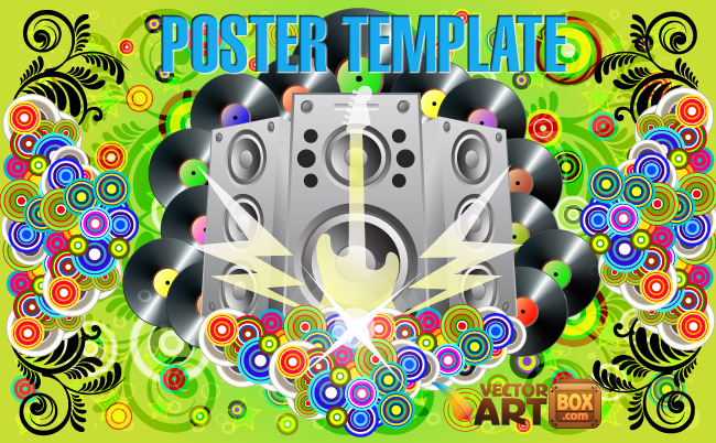 free vector Poster Template