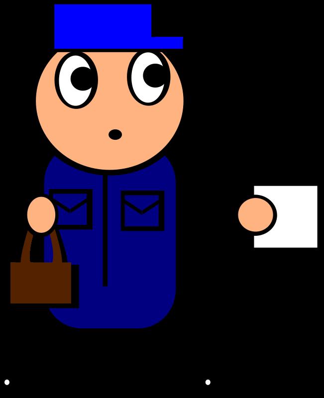 free vector Postman
