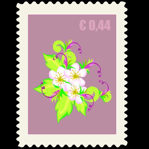 free vector Postmark stamp envelope vector material