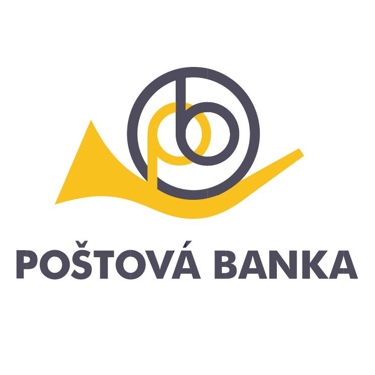 free vector Postova banka