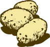 free vector Potatoes clip art