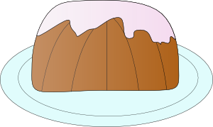 Bundt Cake Clip Art Free : Pound Cake clip art Free Vector / 4Vector