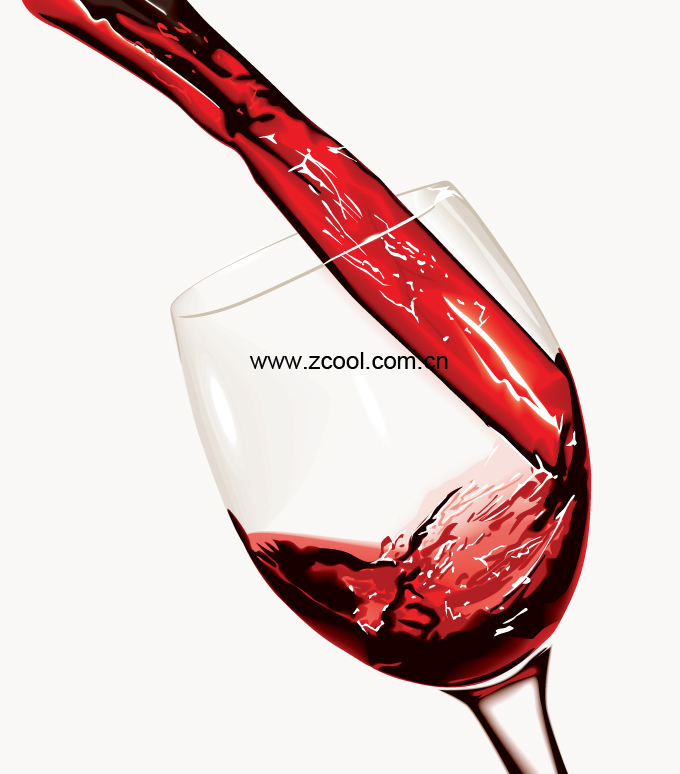 free vector Pour wine moment vector
