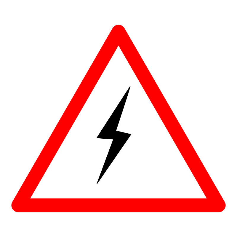 free vector Power Danger