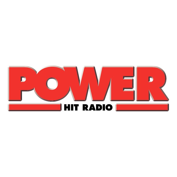 free vector Power hit radio