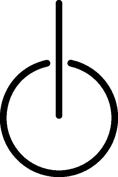 free vector Power Symbol clip art