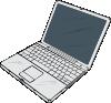 free vector Powerbook clip art