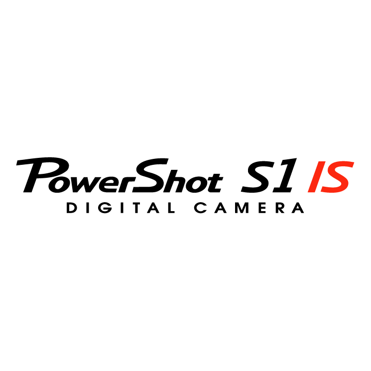free vector Powershot s1 is