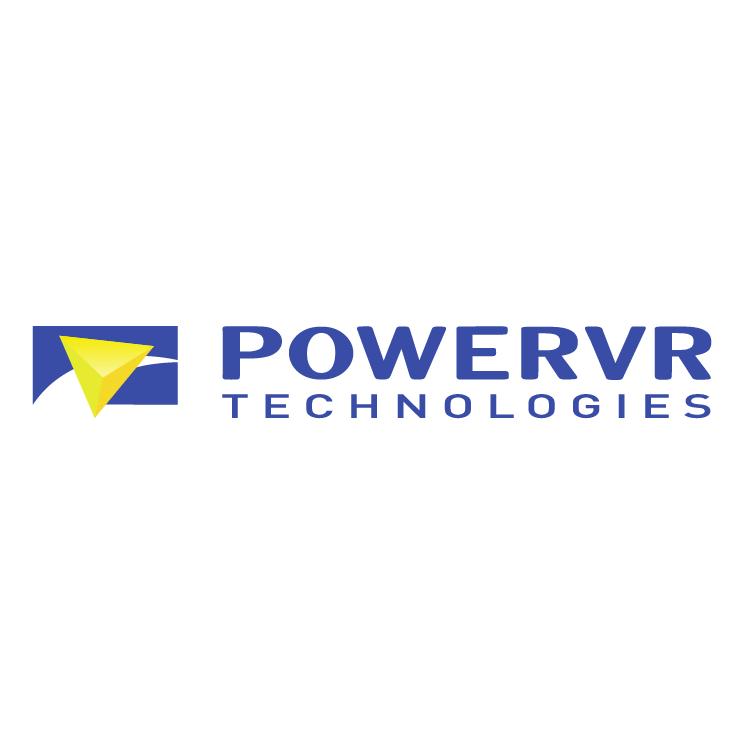 free vector Powervr technologies 0