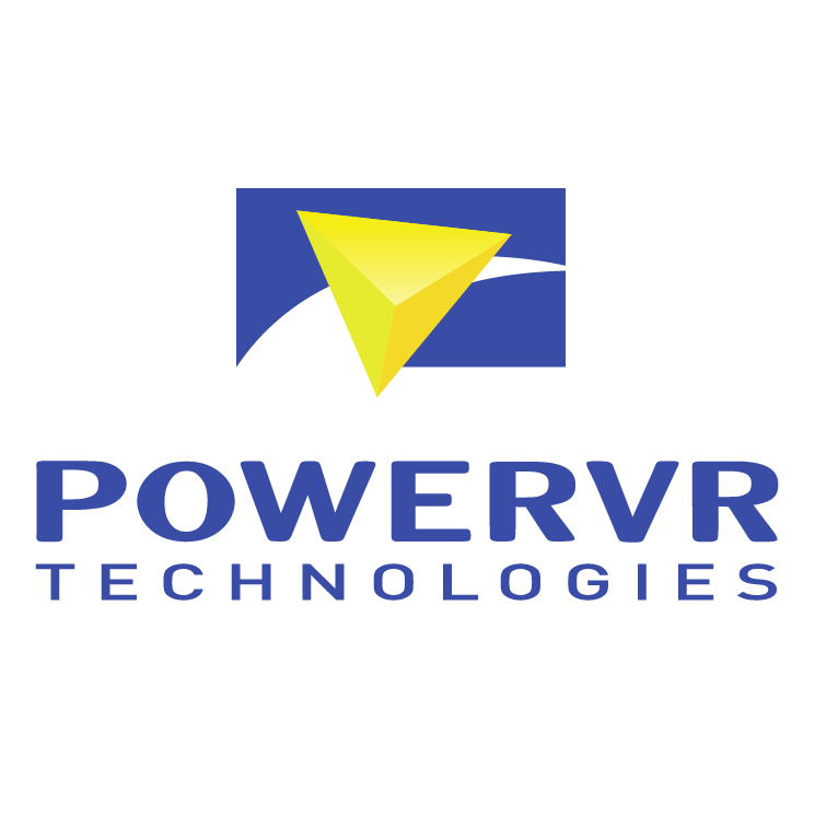 free vector Powervr technologies 1
