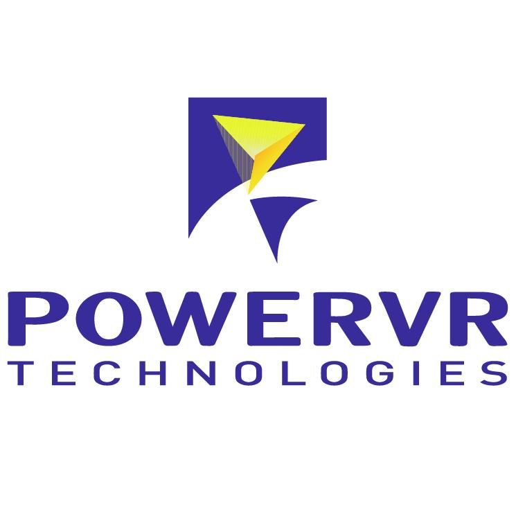 free vector Powervr technologies