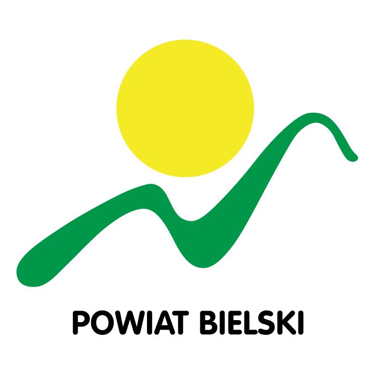 free vector Powiat bielski