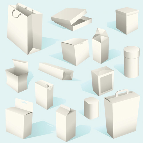 free vector Practical box box vector