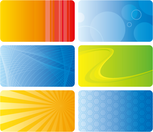 free vector Practical card background vector