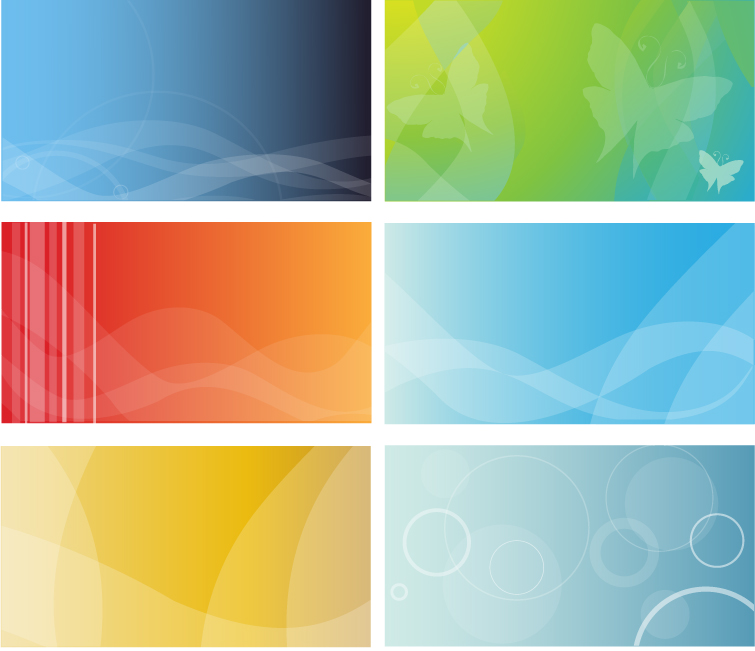 free vector Practical decorative background vector material