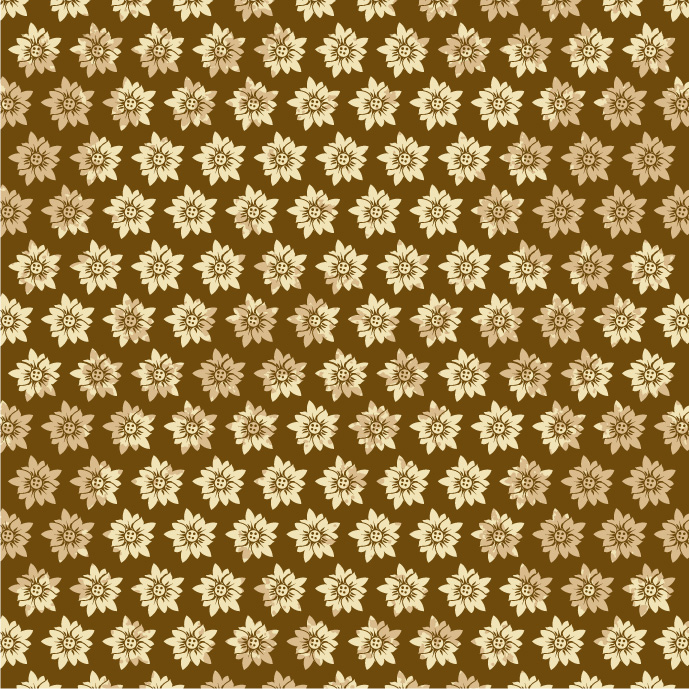 free vector Practical flower pattern vector background