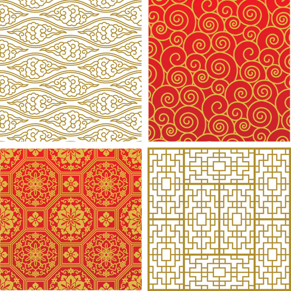 free vector Practical Vector Patterns