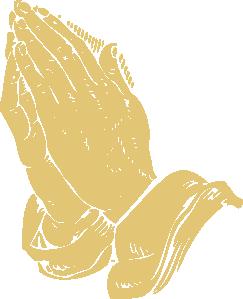 free vector Praying Hands clip art
