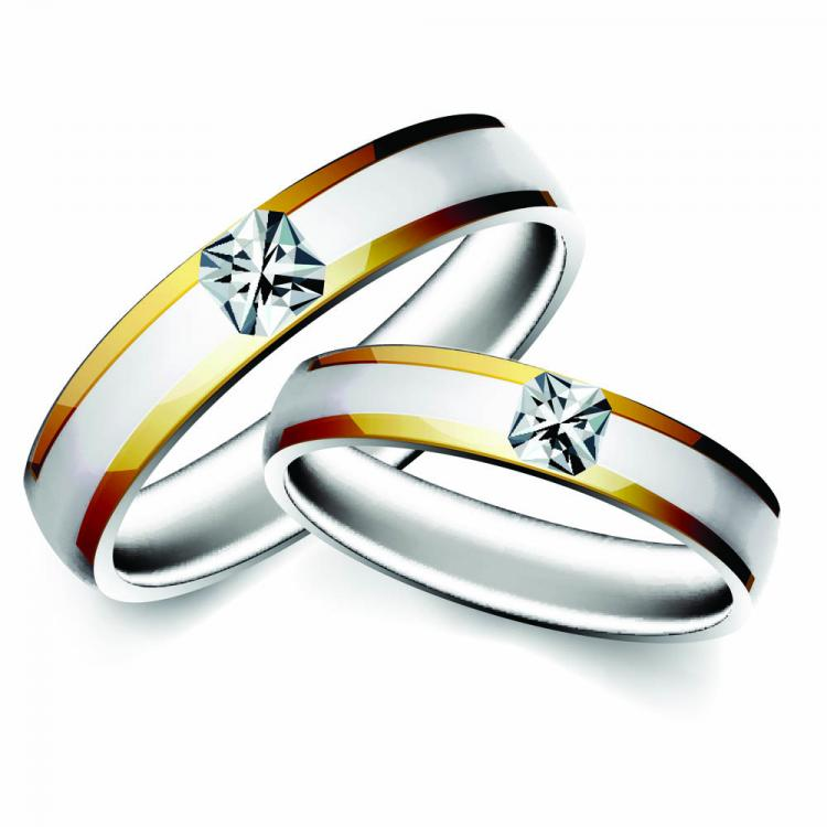 free vector precious wedding ring 04 vector - Free Wedding Rings