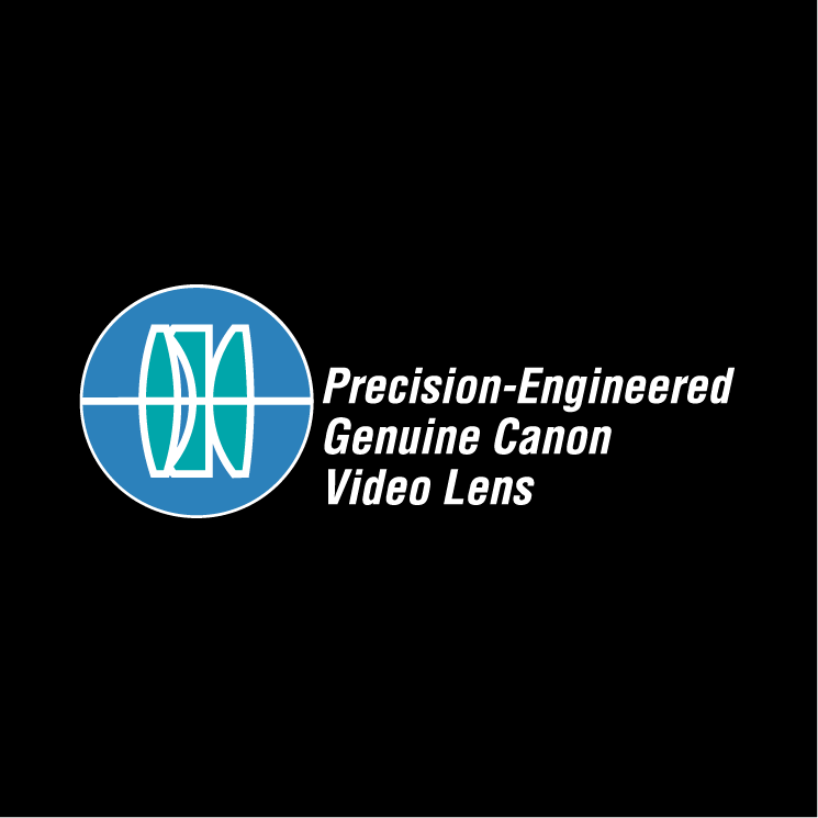 free vector Precision engineered genuine canon video lens