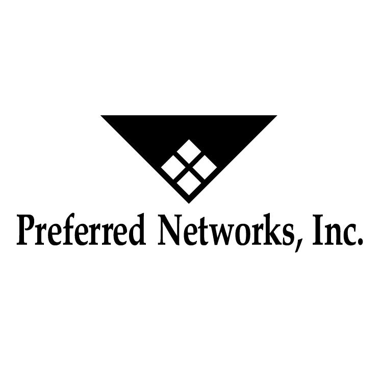 free vector Preferred networks