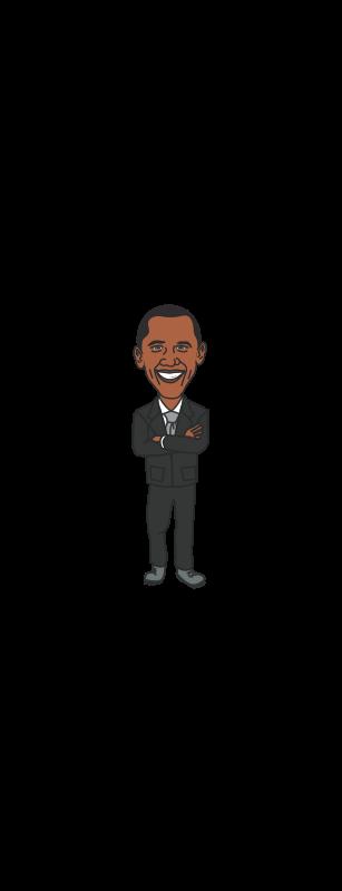 free vector President Barack Obama