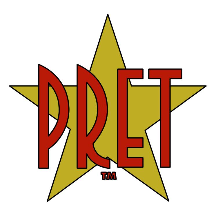 free vector Pret a manger