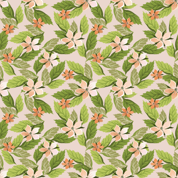 Pretty flower background vector 1 free vector 4vector free vector pretty flower background vector 1 mightylinksfo