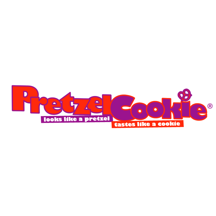 free vector Pretzel cookie