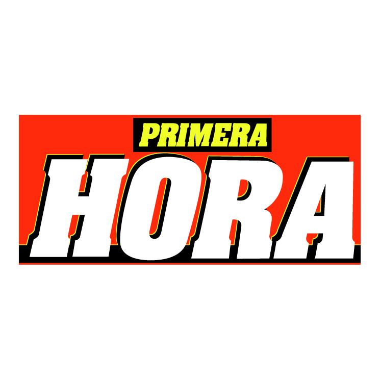 free vector Primera hora