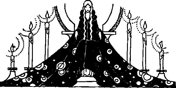 free vector Princess Rosette clip art