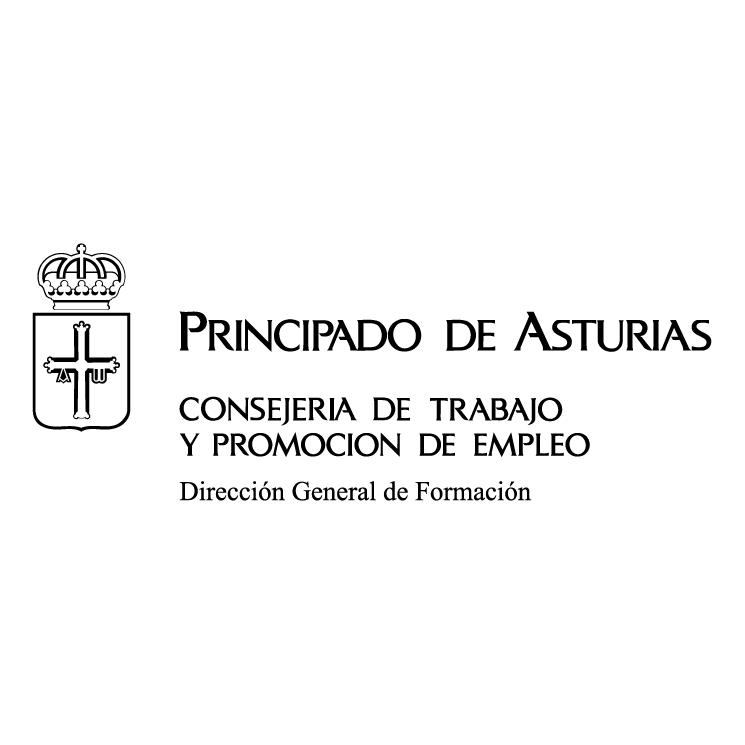 free vector Principado de asturias