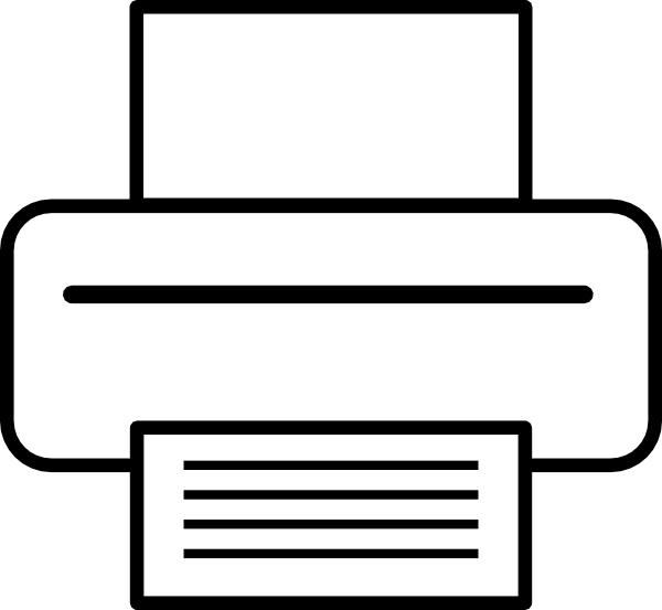 free vector Printer clip art
