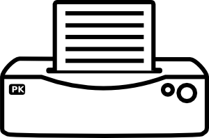free vector Printer Icon clip art