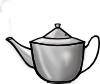 free vector Printerkiller Metal Tea Pot clip art