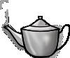 free vector Printerkiller Metal Tea Pot clip art